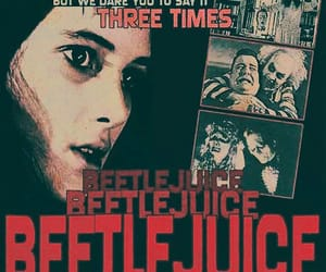 beetlejuice, tim burton, and winona ryder image