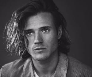 black and white, dougie poynter, and handsome image