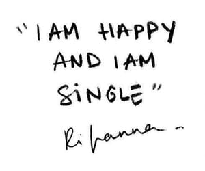 happy, quote, and rihanna image