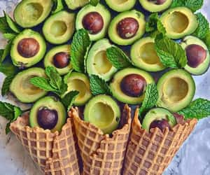 avocado, food, and delicious image