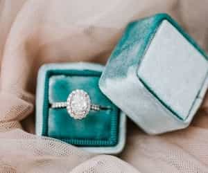 accessories, blue, and diamond image