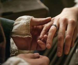 actors, ring, and outlander image