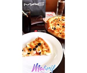 art, pizzahut, and mac image