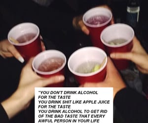 alcohol, breakup, and drink image