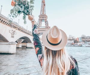 france, girl, and travel image