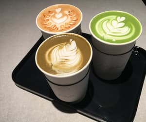 cofee, green, and orange image