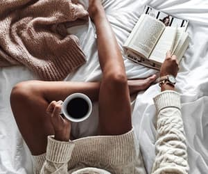 book, coffee, and relax time image