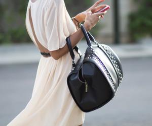 fashion, bag, and dress image