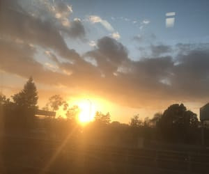 beautiful, dusk, and hour image