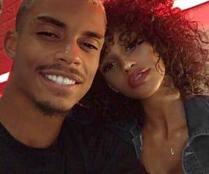 black, couple, and black couple image