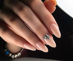 nails, manicure, and trend image