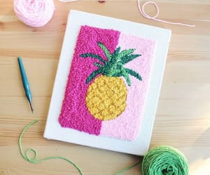 diy, rug hooking, and needle punch image