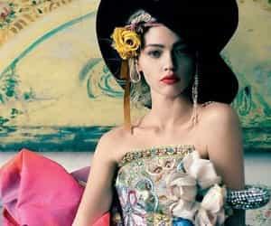 fashion model and photograpy fantasy. image