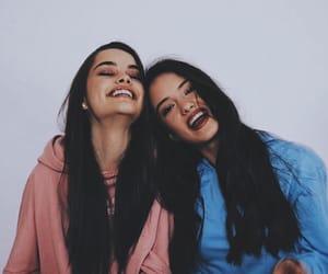 girls, fashion, and friendship image