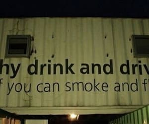 smoke, drink, and fly image