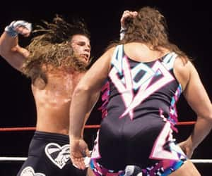 wwe, shawn michaels, and marty jannetty image