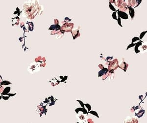 wallpaper, flowers, and patterns image