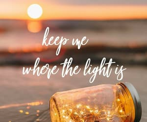 wallpaper, quotes, and light image