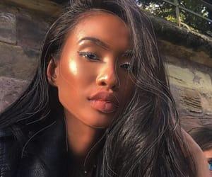 beautiful, black women, and hair image