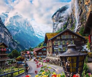landscape, nature, and swiss image