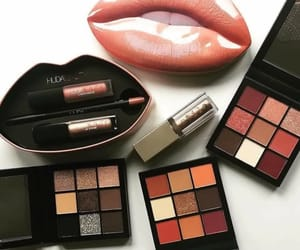 make up and huda beauty image