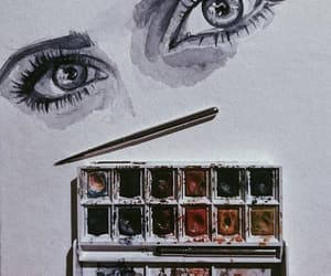 watercolor, art, and inspiration image
