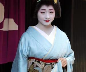 january, new year, and kimono image