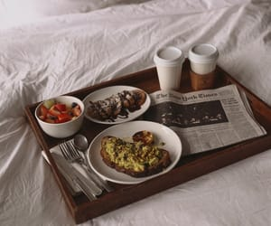 breakfast, cozy, and food image