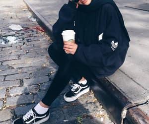 adidas, sneakers, and vans image