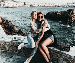 summer, travel, and bff image