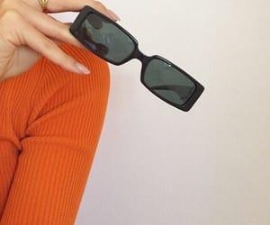 art, fashion, and orange image