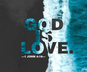 god, bible verse, and love image