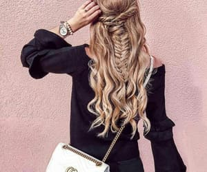 girls, gucci, and hairstyle image
