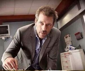 dr house, serie tv, and hugh laurie image