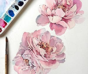 art, colors, and pink image