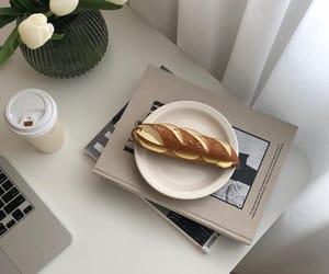bread, food, and minimal image