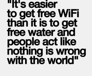 world, quotes, and wifi image