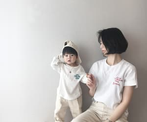 asian girl, short hair, and white image
