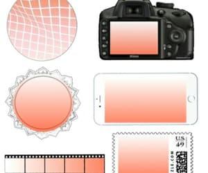 overlays, peach, and edits image