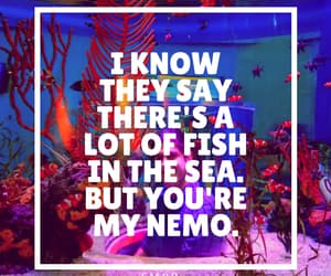 blue, disney, and finding nemo image