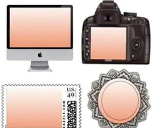 overlay, peachy, and overlays image