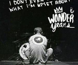 Lyrics, the wonder years, and twy image