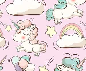 unicorn, wallpaper, and cute image