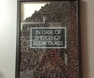 coffee and emergency image