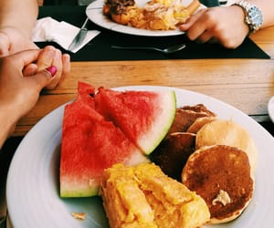 couple, food, and summer image