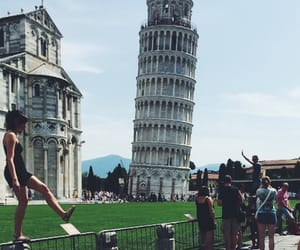 Pisa, leaning tower of pisa, and summer image