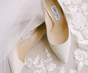 Jimmy Choo, shoes, and wedding shoes image