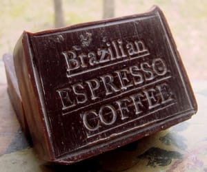 coffee, natural soap, and coffee soap image