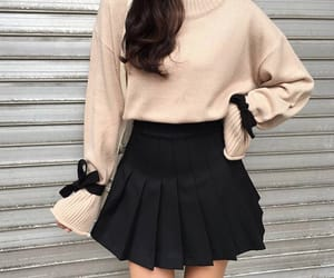 style, fashion, and skirt image