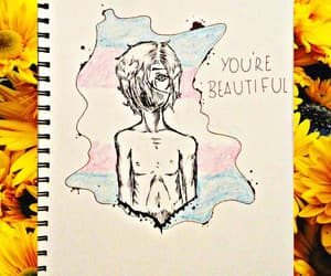 art, be yourself, and beautiful image